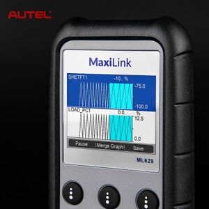 Autel Ml629 Diagnostic Tool Can Obd2 Code Reader Scanner Abs Srs Better As Md802