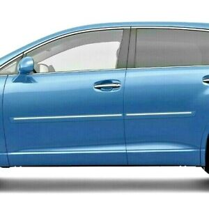 Painted Body Side Moldings With Chrome Trim Insert For Toyota Venza 2009 2016