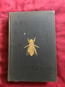 Beekeeping Antique Book Equipment Bee Hive Honey Smoker Apiary Beekeeper Supply