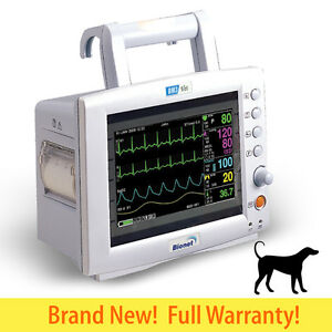 Bionet Bm3 Vet Multi parameter Veterinary Patient Monitor Ecg Nibp Spo2 Resp