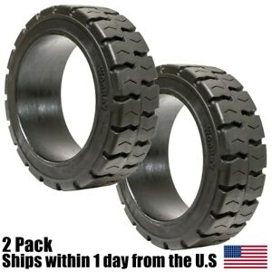 2pk 21x7x15 Tires Super Solid Idl Forklift Press on Traction Tire 21715
