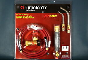 Victor Turbotorch X 4b Torch Kit Swirl For B Tank Air Acetylene 0386 0336