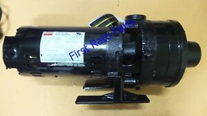 Dayton 45mw19 Booster Pump 1hp Pressure 60 Psi 1 1 2 In Npt Water 208 230 480 Ac