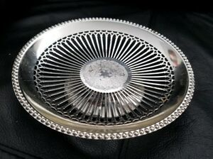 Vintage Silver Plated Cake Fruit Stand