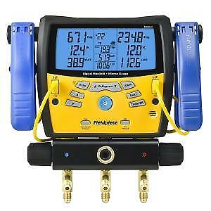 Digital Manifold W micron Vacuum Gauge And Clamps