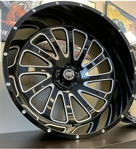 28 Inch Chrome Red Sport 33 Rims Wheels 24 26 30