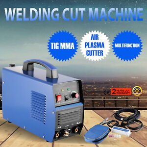 110v Tig mma Welder Plasma Cutter 3 In 1 Welding Machine Accessories Ct312