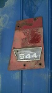 Original Ih Farmall 544 Tractor Ihc Side Panel Emblem 2753969r1 With Side Panel