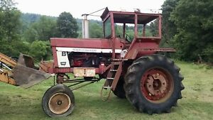 International Harvester 1066 Tractor High Crop Hi Clearance Farmall Cane