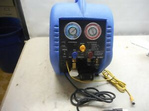 Mastercool 69100 Refrigerant Recovery System With Tank