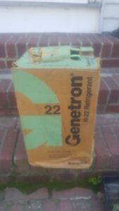 R 22 Refrigerant Sealed 30 Lb Cylinder Pickup Only Jersey Clifton Brand New