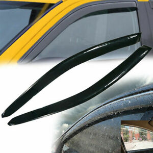 For Honda Civic 2 Dr 2001 2004 2005 Pair Door Side Window Visor Vent Smoke Style