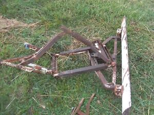 Farmall Cub International Cub Leveling Grader Blade 2