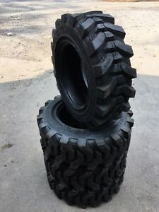 10 16 5 Hd Skid Steer Tires camso Sks732 xtra Wall for Case Caterpillar 29 32nd