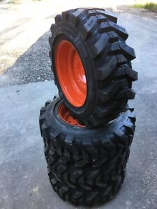 4 10 16 5 Hd Skid Steer Tires For Kubota Ssv65 Camso Sks732 10x16 5 29 32nd