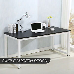 Mecor Computer Desk Pc Laptop Table Workstation Wood Study Home Office Furniture