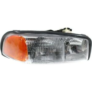New Head Lamp Assembly Right Side Fits 1999 2006 Gmc Sierra 1500 15289276