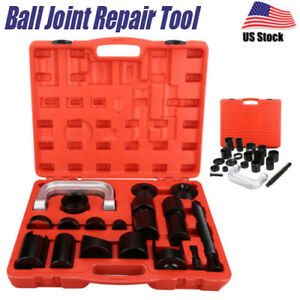 21pcs Ball Joint Auto Repair Tool Removal Remover Installer Master Adapter Kit A