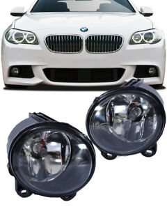 For Bmw 2010 13 F10 582i 535i Front M Sport Package Replacement Fog Lights Pair