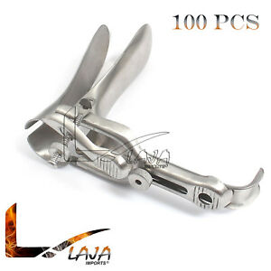 100 Graves Vaginal Speculum Large Obstetrics Gynecology Lot Stainless Steel New