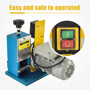 Mecor Electric Portable Wire Stripping Machine Metal Tool Scrap Cable Stripper