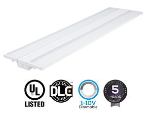 Led Linear High Bay Warehouse Light White Fixture Factory 250w 1500w Equivalent