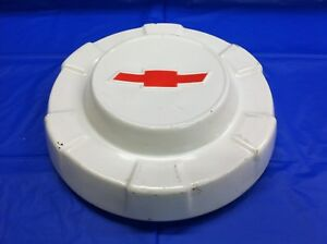 Vintage 1962 63 Chevrolet Pick Up Dog Dish Hubcap Very Good Condition