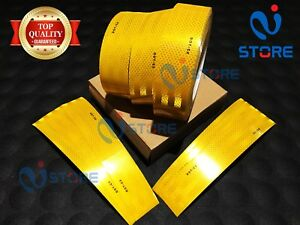 Dot c2 Conspicuity Reflective Tape Yellow Safety Warning Tractor Bus Car Rv Bike
