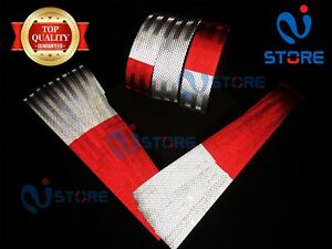 Dot C2 Conspicuity Reflective Tape 7 White 11 Red Safety Warning Trailer Rv