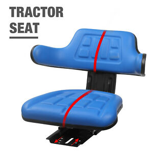 Mecor Blue Suspension Seat For Tractor 2000 2600 2610 3000 4000 3600 4600 3910