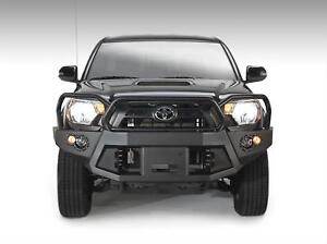 Fab Fours Premium Winch Full Guard Bumpers For 12 15 Toyota Tacoma Tt12 B1650 1
