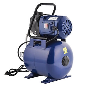 Mecor 1200w Garden Water Pump Shallow Well Pressurized Home Irrigation 1000gph