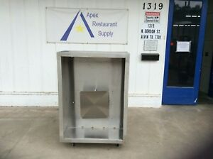 48 4ft Commercial Vent Hood Restaurant Exhaust Hood System 3119