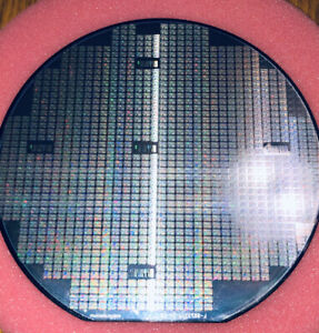 6 Silicon Wafer Texas Instruments Msp430 Mixed signal Microcontroller