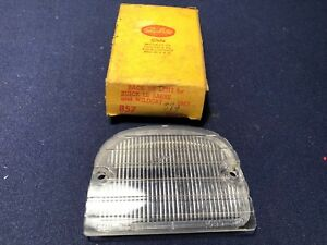 Vintage Buick Le Sabre Wildcat Tail Light Lamp Back Up Lens For 1963 Nos