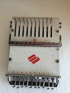 Melco Emt 10 4t Embroidery Systems Needle Case