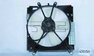 Engine Cooling Fan Assembly Fits 93 97 Toyota Geo Corolla Prizm 600150 Tyc