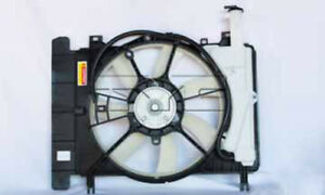 Dual Radiator And Condenser Fan Assembly Fits 07 17 Toyota Scion Yaris Xd Tyc