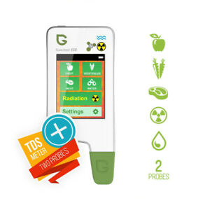 Greentest Eco5 Food Nitrate Counter Radiation Geiger Sensor Water Tds Ppm Tester