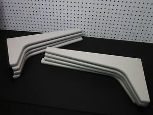 Lot 8 19 Haworth L R Bracket Cantilever Support 1820 3216 4 Pairs