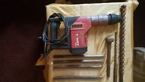 Hilti Double insulated Rotary Hammer Drill Te55 W drill Bits And Chisels