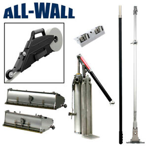 Drywall Master 10 12 Taping finishing Set Zunder Banjo Pump Corner Roller