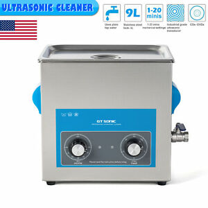 9l Ultrasonic Cleaner Industry Jewelry Ultrasonic Timer Cleaning Stainless Steel