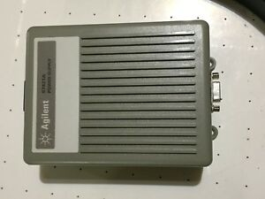 Hp Agilent Keysight 87421a Power Supply With Dc Cables 83006 60005