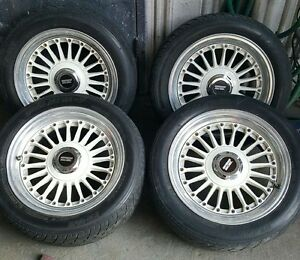 Rare Jdm Hre Hayashi Racing Wheels Bmw 4x100 Honda