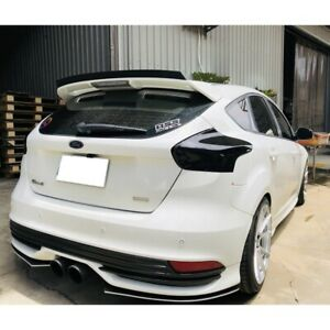 284 Pil Add On St Rear Trunk Spoiler Wing For 2011 2018 Ford Focus Mk3 Hatchback