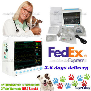 Usa Fedex Veterinary Patient Monitor Veterinary Multi parameters animal Care