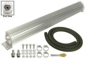 Derale 26 1 4 X 2 3 16 X 3 1 4 In Automatic Trans Fluid Cooler Kit P n 13256
