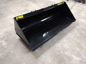 New Dirt Material Bucket Sizes 60 66 72 78 84 Skid Steer Medium Capacity Hd