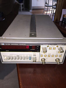 Hp 5315b Universal Counter Hewlett Packard Vintage